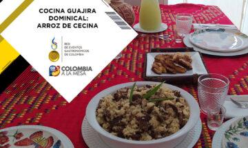 COCINA GUAJIRA DOMINICAL: ARROZ DE CECINA