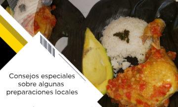 CONSEJOS ESPECIALES SOBRE ALGUNAS PREPARACIONES LOCALES