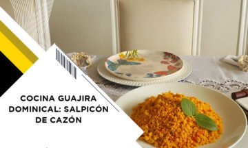 COCINA GUAJIRA DOMINICAL: SALPICÓN DE CAZÓN